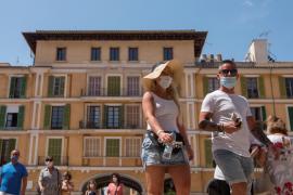 Las sanciones por no usar mascarilla en Baleares empezarán el 20 de julio