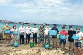 La campaña 'Vidre per Posidònia' acaba con una entrega de premios