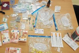 Dos años de prisión para un detenido en Ibiza por tráfico de éxtasis líquido y 'popper'