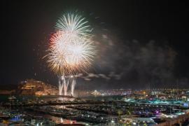 La isla de Ibiza no tendrá castillos de fuegos artificiales durante este verano