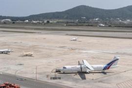 El aeropuerto de Ibiza registró en junio 316 vuelos privados con 748 pasajeros