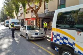La Policía Local de Ibiza inicia una campaña de control del uso de la mascarilla