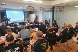 Reunión policial