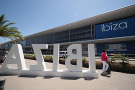 El aeropuerto de Ibiza opera 426 vuelos este fin de semana
