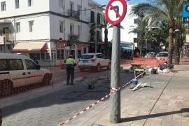 El PSOE denuncia el caos circulatorio en el centro del pueblo de Santa Eulària