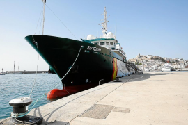 El buque Río Segura controlará los fondeos en aguas de Ibiza y Formentera