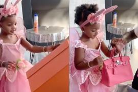 Offset, marido de Cardi B, le regala un bolso de más de 8.000 dólares a su hija de dos años