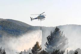 Alarma por un incendio que calcinó más de 5 hectáreas en Montecristo