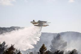 El incendio forestal que calcinó más de 5 hectáreas en Montecristo en imágenes (Fotografías de Arguiñe Escandón)