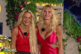 Yola Berrocal y Leticia Sabater, ganadoras de 'La casa fuerte'