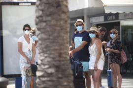 La Policía Local de Ibiza levanta 26 actas por no hacer uso de la mascarilla