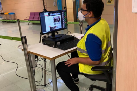 Indra implanta un sistema de control de temperatura de pasajeros en el aeropuerto de Ibiza