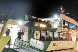 Vuelve a estar operativa la barca Ibiza-Formentera de las 06:00 horas después de un mes
