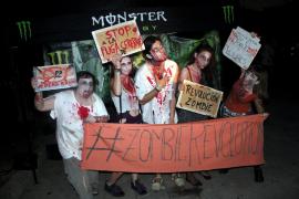 Noche terrorífica en la tercera edición de la Marcha Zombie de Mallorca