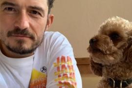 Orlando Bloom da por muerto a su perro y se tatúa su nombre en el pecho