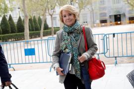 Esperanza Aguirre declara como investigada en el caso Púnica