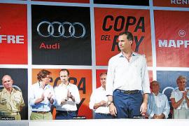Entrega de premios de la Copa del Rey Audi Mapfre con la presencia del Príncipe