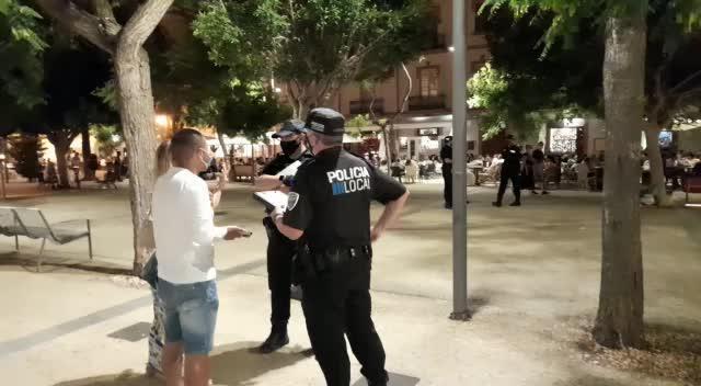 Interpuestas en Vila 156 denuncias durante controles del uso de mascarillas