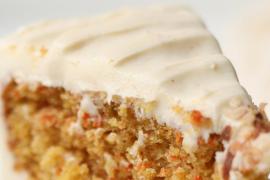Cómo hacer el 'frosting' de la tarta de zanahoria