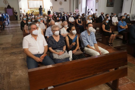 Emotiva misa en recuerdo a los fallecidos por la COVID-19