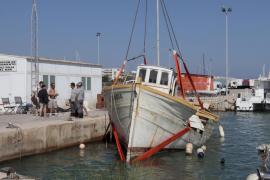 La Joven María, rescatada del fondo del mar