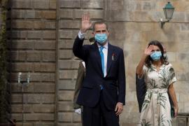 Los reyes presiden hoy la ofrenda al Apóstol en Santiago
