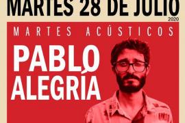 'Martes acústico' en el Cafeclub de Es Gremi con Pablo Alegría en Cafeclub