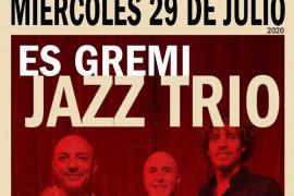 Jazz Trío pone música a los 'Miércoles de jazz' del Cafeclub de Es Gremi