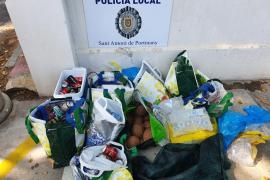 Sant Antoni impone cuatro multas por venta ambulante en cala Salada y cala Saladeta
