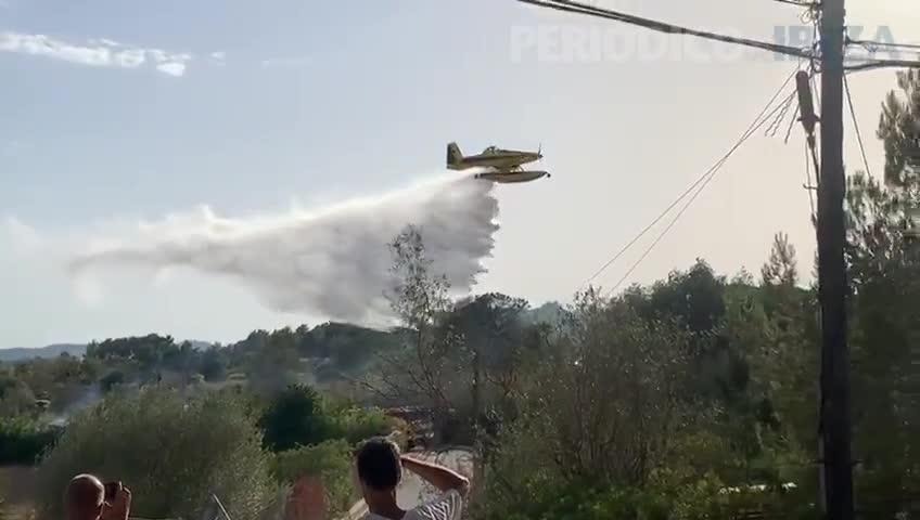 Declarado un incendio en Santa Gertrudis