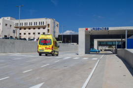 Herido leve un joven precipitado desde una altura de dos metros en Ibiza
