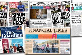 La prensa británica apoya la medida y cree que Baleares es una 'sutileza' para Johnson