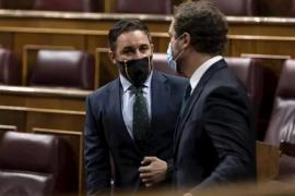 Abascal anuncia que Vox presentará una moción de censura contra Pedro Sánchez en septiembre