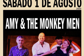 Amy & The Monkey Men rinden homenaje a la gran Amy Winhouse en Es Gremi