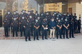 La comisaría de Ibiza presenta a 44 nuevos agentes