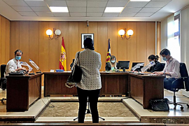Juicio por acoso en Palma