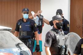 Dos detenidos en un amplio operativo antidroga en el barrio de sa Penya