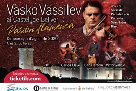 Conciertos en Mallorca: Vasko Vassilev en el Castell de Bellver