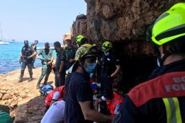 En estado crítico un niño de 12 años tras una caída de ocho metros en Formentera