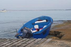 La Guardia Civil detiene a 14 inmigrantes llegados en patera a Formentera