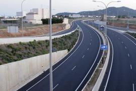 Esta madrugada se cerrará por obras la autovía al aeropuerto de Eivissa
