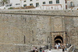 Se desploma un 97,12% la llegada de turistas a las Pitiusas