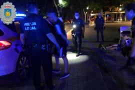 Detenidos dos jóvenes en Ibiza por herir a otro al que robaron un patinete eléctrico