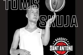 Toms Skuja, talento letón con proyección ACB para acelerar el juego del Sant Antoni
