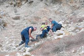 «Fue un rescate complejo y duro por los tres pequeños y lo escarpado de la zona»