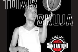 Toms Skuja, talento letón con proyección ACB para el Sant Antoni