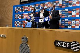 Moreno en su presentación como técnico de Espanyol: «Tenía muy claro que quería subirme a este carro»