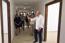 El Consell finaliza las obras de remodelación del pabellón 208 de Sa Coma