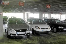 Los alquileres de coches pierden cerca de un 30% de facturación en los tres últimos años