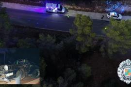 El conductor de un Porsche Carrera muere tras empotrarse contra un árbol en Ibiza